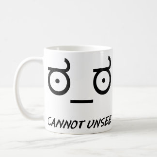 Look of Disapproval Cannot Unsee Coffee Mug