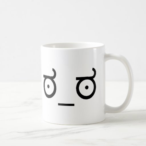 Look Of Disapproval Classic White Coffee Mug