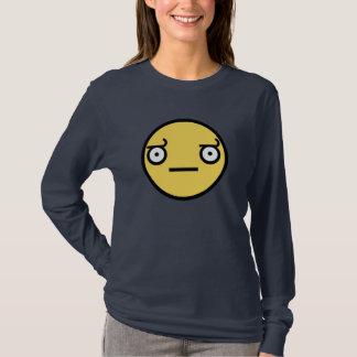 Look of Disapproval Dark Ladies Long Sleeve T-Shirt