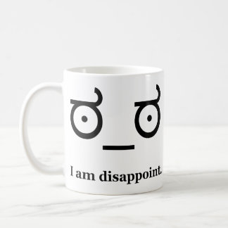 Look of Disapproval Disappoint Coffee Mug