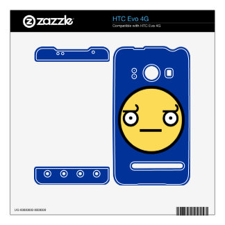 Look of Disapproval HTC Evo 4G Skin