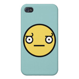 Look of Disapproval iPhone 4 Covers