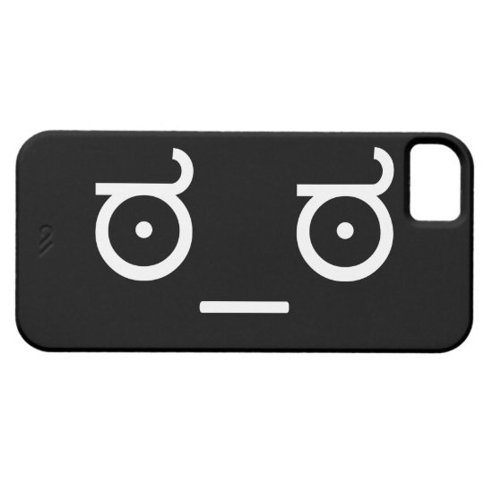 Look of Disapproval. iPhone SE/5/5s Case