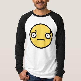 Look of Disapproval Long Sleeve Raglan Shirt