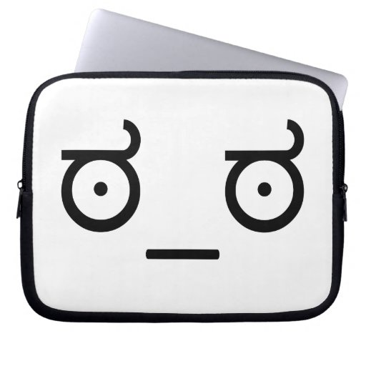 Look of Disapproval Meme Computer Sleeve