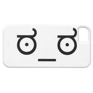 Look of Disapproval Meme iPhone SE/5/5s Case