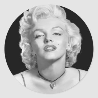 Look Of Love Classic Round Sticker