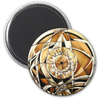 Look of zodiac 2 inch round magnet