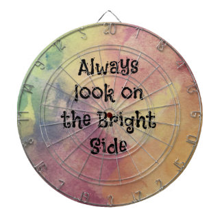 Look On The Bright Side - Design Dart Board