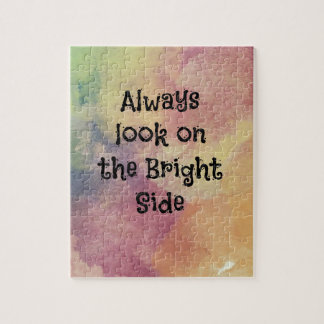 Look On The Bright Side - Design Jigsaw Puzzle