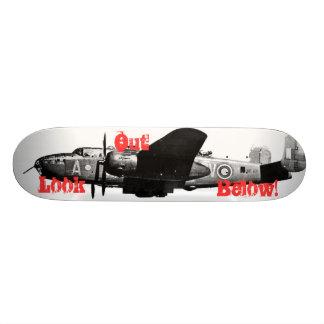 Look Out Below! Skateboard Deck