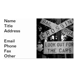 Look Out For Cars Double-Sided Standard Business Cards (Pack Of 100)