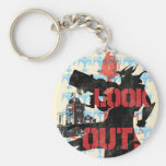 Look Out! Keychain