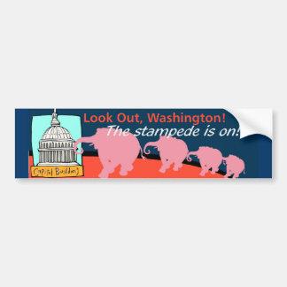 Look Out, Washington Bumper Sticker