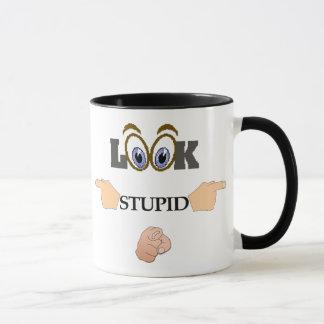 Look Stupid Mug