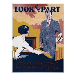 Look The Part Poster