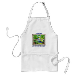 Look Through Any Window Adult Apron