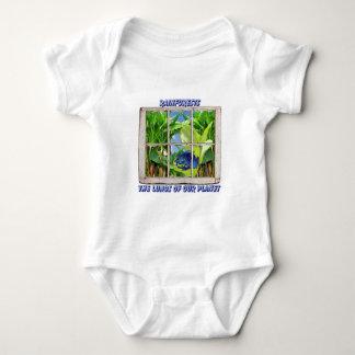 Look Through Any Window Baby Bodysuit