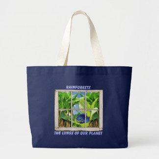 Look Through Any Window Jumbo Tote Bag