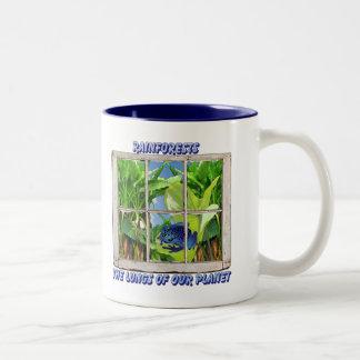 Look Through Any Window Two-Tone Coffee Mug