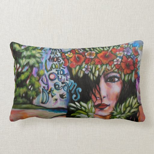look to your dreams throw pillow