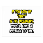 Look Up Aunt In Dictionary...My Picture Postcard
