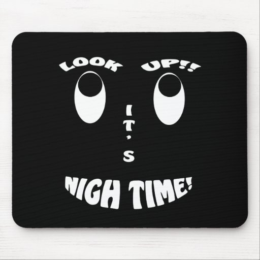 LOOK UP DK MOUSE PAD