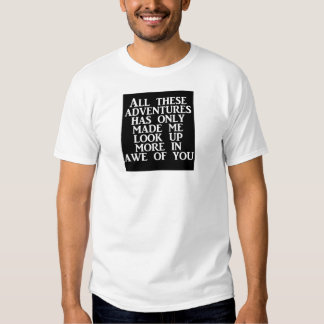 Look Up More in Awe of You - Men's Basic T-Shirt