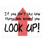 Look Up Post Card