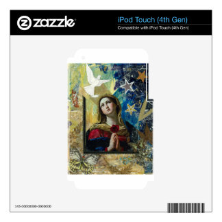 Look Up iPod Touch 4G Skins