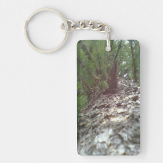 Look up the Tree Keychain