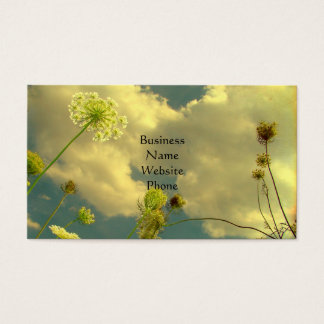 Look Up To Nature Business Card