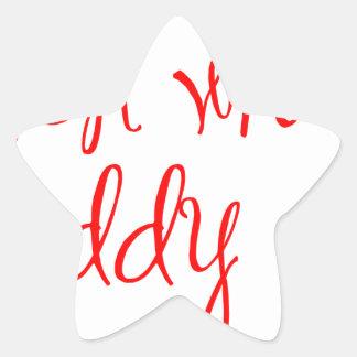 look-what-daddy-did-ma-red.png pegatina en forma de estrella