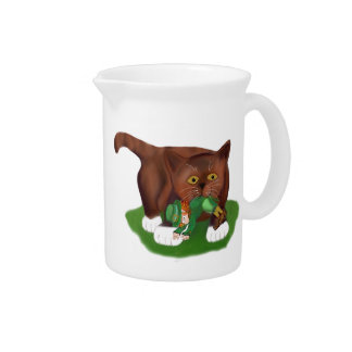 Look What I Found Meows Kitten Drink Pitcher