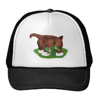 Look What I Found Meows Kitten Trucker Hat