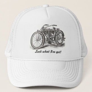 Look What I've Got Motorcycle Hat