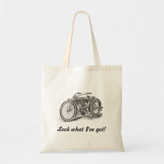 Look What I've Got Motorcycle Tote