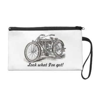 Look What I've Got Motorcycle Wristlet