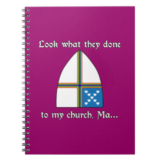 Look what they done to my church Ma Notebooks