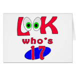 Look who is 17 ? greeting card