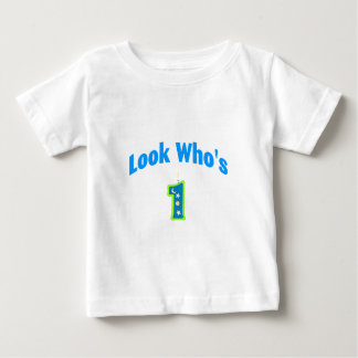 Look Who's 1 (2) Baby T-Shirt
