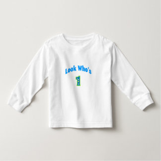 Look Who's 1 (2) Toddler T-shirt