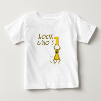 Look Who's 1-monkey Baby T-Shirt