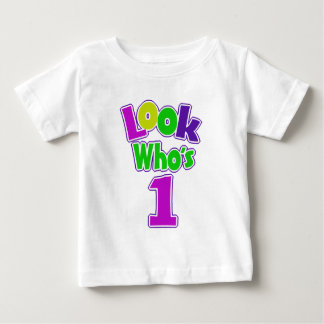 Look Who's 1/ Pastel Baby T-Shirt