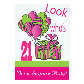 Look Who's 21 | 21st Birthday Card