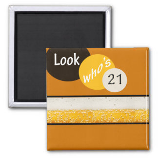look whos 21 2 inch square magnet