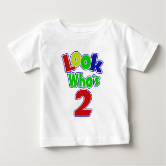 Look Who's 2 Baby T-Shirt