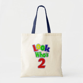 Look Who's 2 Canvas Bag