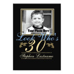 Look Who's 30 Photo 5x7 Paper Invitation Card