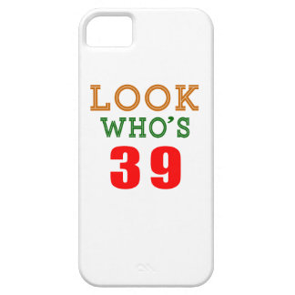 Look Who's 39 iPhone 5 Covers